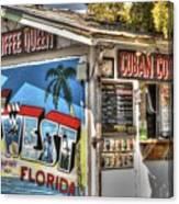 Cuban Coffee Queen Canvas Print