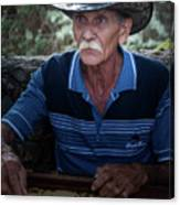 Cuban Domino Player, Manaca Iznaga, Cuba Canvas Print