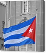 Cuban Flag Canvas Print