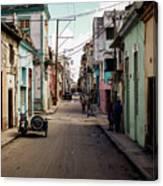 Cuban Street Canvas Print