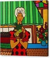 Cuban Vignette Canvas Print