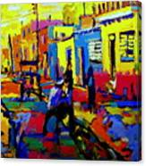 Cuban Village Canvas Print