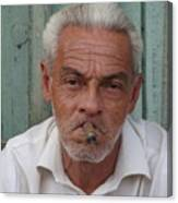 Cuba's Faces Canvas Print