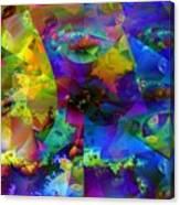 Cubed Fractals Canvas Print