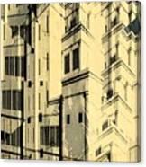 Cubic Building Canvas Print