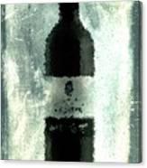 Cubist Red Wine Canvas Print