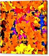 Cubist Tesseract Canvas Print