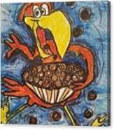 Cuckoo For Cocoa Puffs Canvas Print