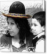 Cuenca Kids 912 Canvas Print