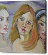 Cuginette Canvas Print