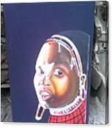 cultural Masaai Woman Canvas Print