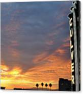 Culver City Marquee Canvas Print
