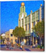Culver City Plaza Theaters   Canvas Print