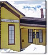 Cumbres Train Station Canvas Print