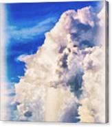 Cumulonimbu Over Tampa Bay Canvas Print