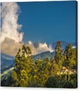 Giant Over The Mountains Canvas Print