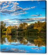Cumulus Colors Canvas Print