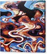 Cunami.southost Azia. Canvas Print