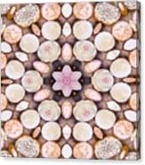 Cupcake Kaleidoscope Canvas Print