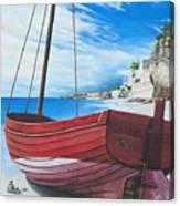 Cupecoy Beach Canvas Print