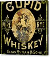 Cupid Whiskey Canvas Print