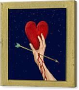 Cupids Arrow Canvas Print