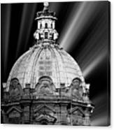 Cupola In Rome Canvas Print