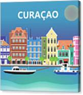 Curacao Horizontal Scene Canvas Print