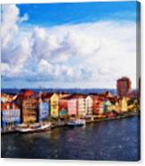 Curacao Oil Canvas Print