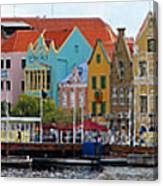 Curacao Willemstad Panorama Canvas Print