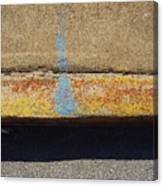 Curb Canvas Print