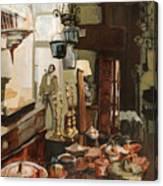 Curio Shop Canvas Print