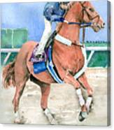 Curlin Canvas Print