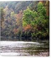 Current River 1 Canvas Print