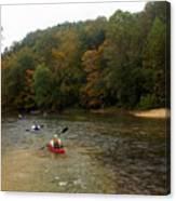 Current River 3 Canvas Print