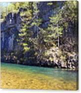 Current River 7 Canvas Print