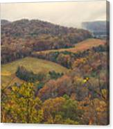 Current River Valley Near Acers Ferry Mo Dsc09419 Canvas Print