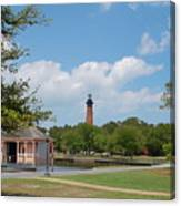 Currituck Lighthouse From Heritage Park Canvas Print