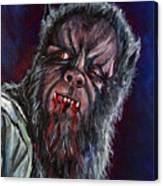 Curse Of The Werewolf Canvas Print
