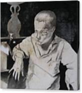 Curt Canvas Print