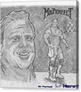 Curt Hennig- Mr Perfect Canvas Print