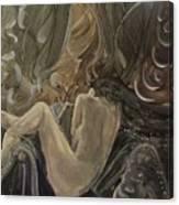 Curtains At Dusk Canvas Print