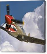 Curtiss P-40n Warhawk Canvas Print