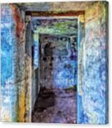 Curved Passageway Canvas Print