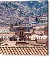 Cusco Cityscape Canvas Print