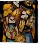 Cusco Market Canvas Print