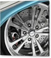 Custom Car Wheel Canvas Print
