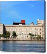 Custom House Canvas Print