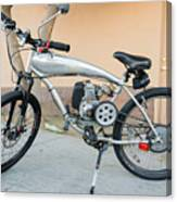 Custom Made Motor Bike Canvas Print