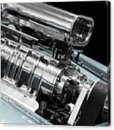 Custom Racing Car Engine Canvas Print